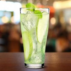 Sour Apple Highball | The Cocktail Porject