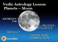Free Vedic #Astrology Lesson – Planets – #Moon http://vedicartandscience.com/free-vedic-astrology-lesson-planets-moon/