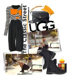 """""""The New Classics With UGG: Contest Entry"""" by iraavalon ❤ liked on Polyvore featuring NARS Cosmetics, UGG, Jil Sander, Marc Jacobs and ugg"""