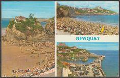 Multiview, Newquay, Cornwall, 1968 - ETW Dennis Postcard