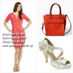 Wedding? ☆♡★♥  www.questworld.com.ng #dress #bag #shoes #sandals