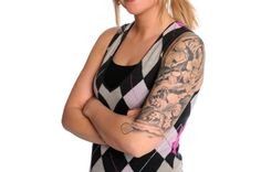 Half-sleeve tattoos typically refer to a tattoo that wraps completely around the upper arm from shoulder to elbow or half the arm. However, some people will also refer to a tattoo that wraps around the arm from elbow to wrist as a half-sleeve tattoo, but others call tattoos in this area a quarter sleeve tattoo …