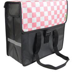 Beck Shopper - Pink Checker