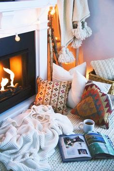 By The Fire - This Is How To Hygge Your Home - Photos