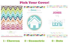 Everything you need to acheive an organized house, please fun bright colours..LOVE IT  Personalized Household Binder Everything by IHeartOrganizing, $40.00