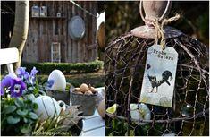 es wird Ostern im Garten....