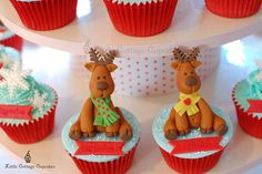 My little Reindeers 2 by Little Cottage Cupcakes, via Flickr