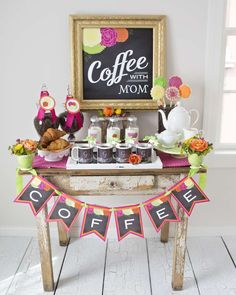 Gorgeous  Mother's Day party! See more party planning ideas at CatchMyParty.com!