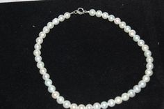 Freshwater Pearls and Sterling Silver Clasps