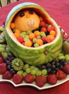 Funny pictures about Watermelon Baby. Oh, and cool pics about Watermelon Baby. Also, Watermelon Baby photos. Food Design, Design Ideas, Design Concepts, Cute Food, Good Food, Funny Food, Awesome Food, Food Humor, Fun Funny