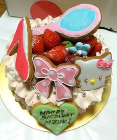 #hellokitty #cake #birthdaycake