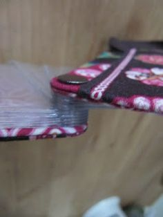 Sew Many Ways...: Tool Time Tuesday...Credit Card Case