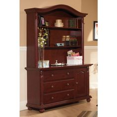 Cocoon Nursery Furniture 1000 Series Dressing Station and Hutch - 1000-dresser-hutch