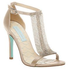 Betsey Johnson Mesh Evening Shoe
