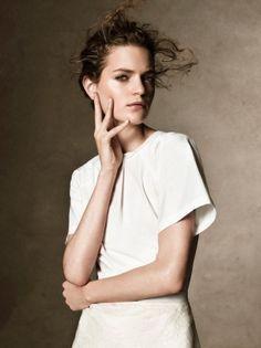 Magdalena Langrova Poses for Victor Demarchelier in Harper's Bazaar UK March 2013 by graciela