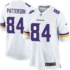 Youth Cordarrelle Patterson Elite White Nike Jersey: NFL Minnesota Vikings #84 Road