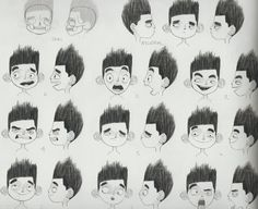 Living Lines Library: ParaNorman (2012) - Character Design