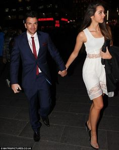 Happy 40th Peter Andre.  Not looking happy to see the paps ;)