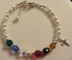 Swarovski Crystal and Sterling Silver Salvation by ymcjewelry