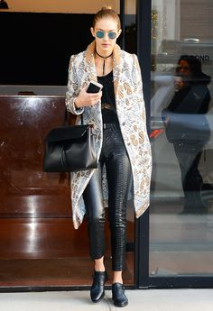 Gigi Hadid Style Ideas to Steal for Winter Break via @WhoWhatWear