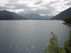 Vista al Norte. Lago neltume