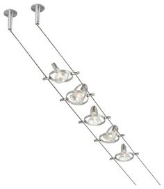 Accent 5-Head Cable Kit - modern - Ceiling Lighting - LBC Lighting