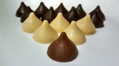 Homemade Filled and Flavored Chocolate Kisses- Gourmet Callebaut Chocolate