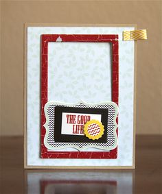 Another card by @Ashley Harris using the great collection The Good Life by @Fancy Pants Designs!