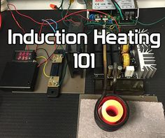 In this instructable, I will show you how to make an induction heating machine and 7 different applications for it. Induction heating has many practical applications. Induction Forge, Induction Heating, Electrical Projects, Electrical Engineering, Electrical Wiring, Mechanical Engineering, Metal Projects, Welding Projects, Metal Crafts