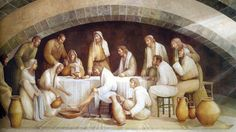 Association Of Catholic Bloggers: Emotional moments of His delicate love: Last suppe...