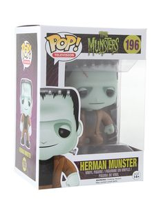 Monstrous fun with Herman! Munster Vinyl Figure | Hot Topic