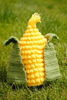 Corn Hat Crochet Pattern. Way cuter and cheaper than the one Gap Kids sells!