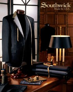 Southwick Clothing from Dann, Classic Suits, Tuxedos, Blazers and Southwick Custom Clothing for the Well Dressed Man, INTL Shipments, Custom Southwick Duffle Bags