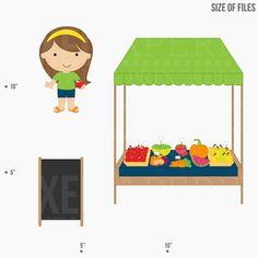 Farmers Market Clipart Clip Art