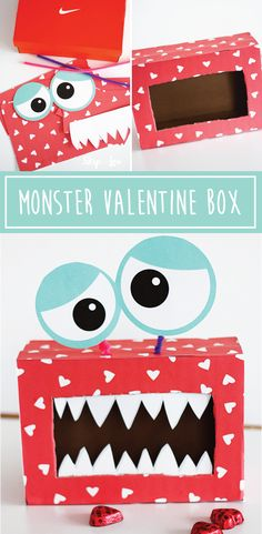 Easy DIY Monster Valentine box