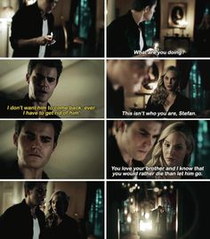 #Tvd #7x11 - Caroline found me just in time. Without her I wouldn't be able to stop myself.