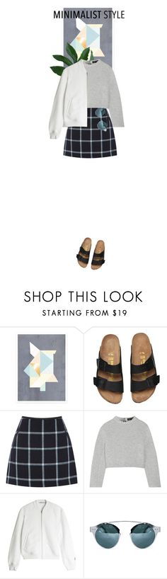 """Minimalism"" by dancingwithyou ❤ liked on Polyvore featuring Kami Design, Oasis, Proenza Schouler and T By Alexander Wang"