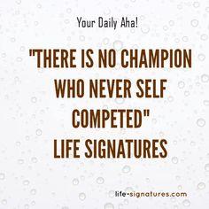 #Daily Aha!