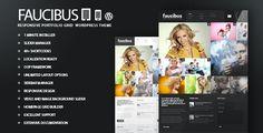 Faucibus - Responsive Portfolio Grid Theme - ThemeForest Item for Sale
