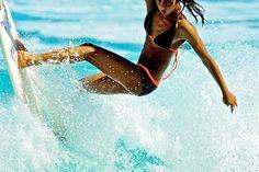 Killin it! Surfing, waves, girls surf. Your Body is a Wonderland http://www.pinterest.com/wineinajug/your-body-is-a-wonderland/