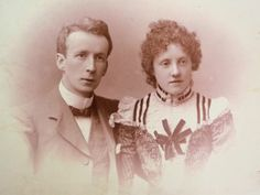 ca. 1900 couple