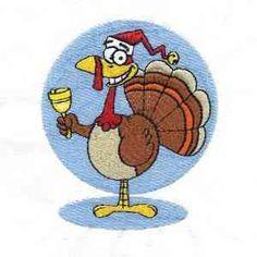Festive Turkeys 44 Hoop  01