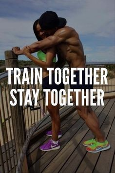 Couples who train together stay together #fitness #sexy