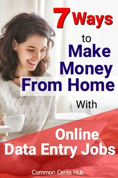 Online data entry jobs from home can be a great option when you need to work from home. They've got flexible schedules, straightforward work and enable you to work at home. Here are the 7 best places I've found to work! Online Data Entry Jobs, Easy Online Jobs, Online Jobs From Home, Work From Home Jobs, Work From Home Opportunities, Earn Money From Home, Way To Make Money, Make Money Online, How To Make