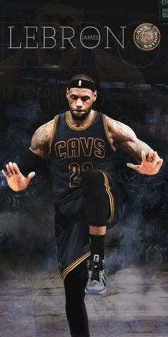LeBron James Cleveland Cavaliers basketball from…