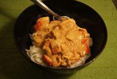 Crock Pot Thai Peanut Chicken #weightwatchers 6 points+