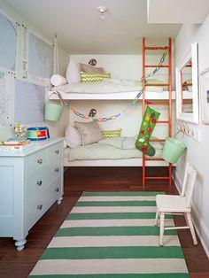 Sarah Richardson's Ontario holiday house kids room