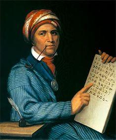 12. Which Cherokee leader developed a written syllabary of the Cherokee language? John Ross Choctaw Echota Sequoyah?