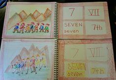 Number 7, 7 Dwarves lived over 7 Mountains