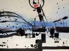 "Saatchi Art Artist Mo Tuncay; Painting, ""Abstract No.143"" #art"